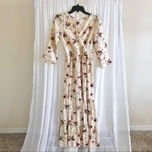 Chicwish Floral Maxi Dress
